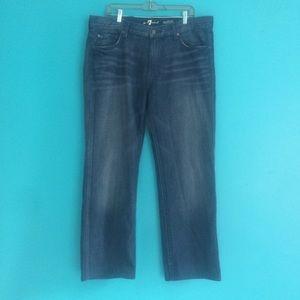 7 for all Mankind Austyn jeans dark wash straight